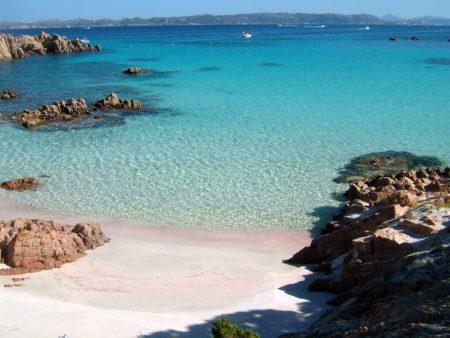 spiaggia rosa Sardegna