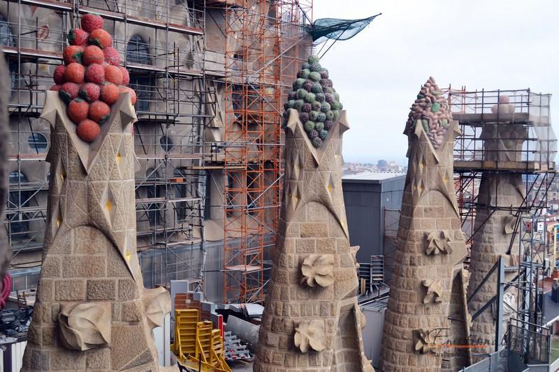 Visita alla Sagrada Familia