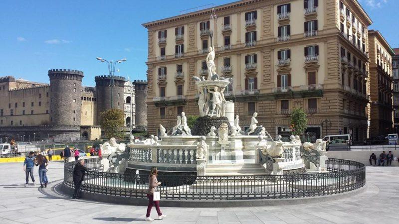 Cosa vedere a Napoli Fontana Nettuno