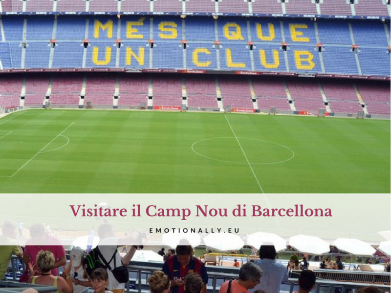 Visitare Camp Nou