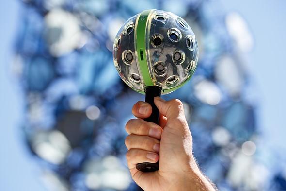Foto stupende camera 360°