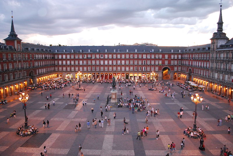 Cosa vedere a Madrid Plaza Mayor