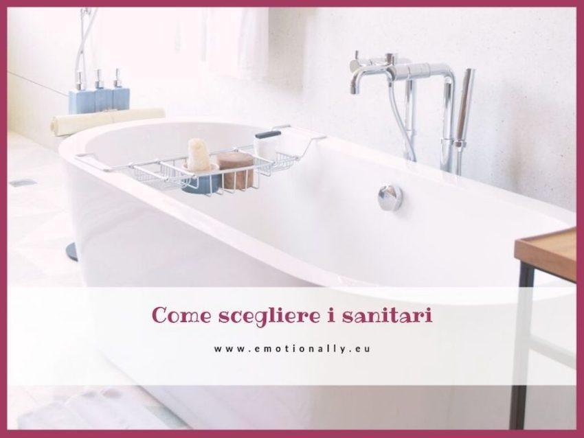 Come scegliere i sanitari bagno