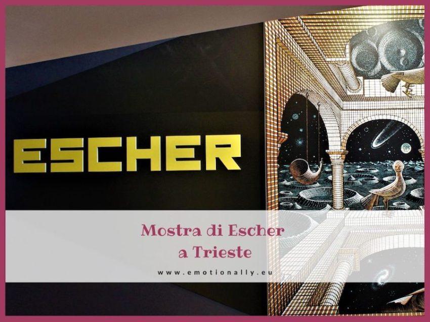 Mostra di Escher a Trieste