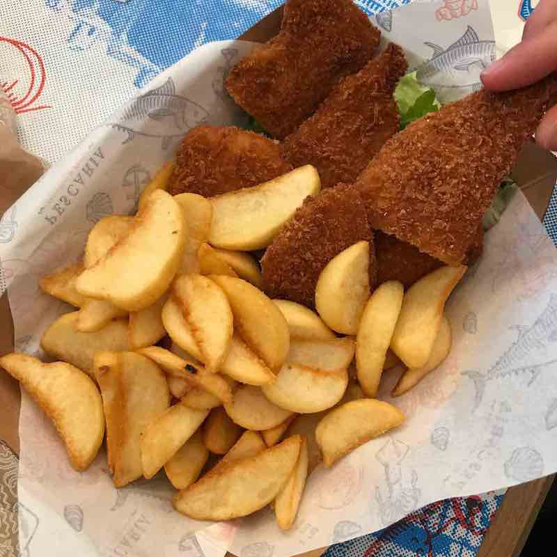 Fish and Chips Pescaria