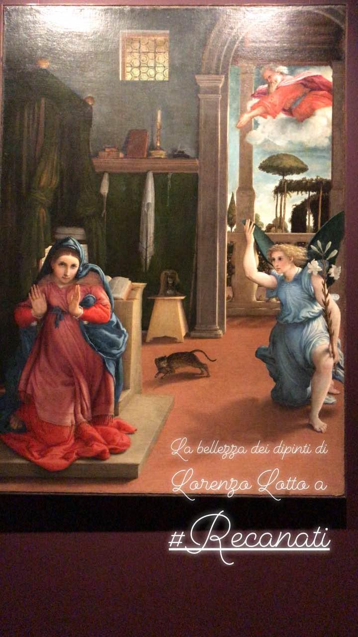 Annunciazione Lorenzo Lotto